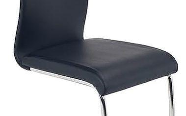 Kovová židle K180 černá