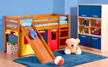 Matrace do dětské patrové postel se skluzavkou Neo Plus