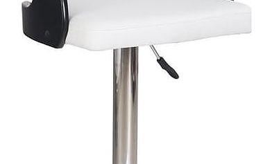 Barová židle H-18 černo-bílá černo-bílá