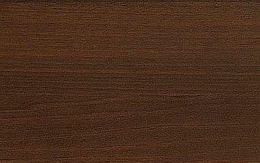 Dřevěný jídelní stůl Emil tmavý ořech