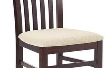 Dřevěná židle Gerard 7 tmavý ořech