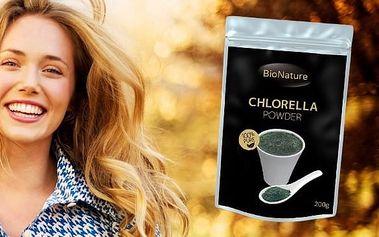 BioNature Chlorella 200g - řasa, která pomáhá lidem