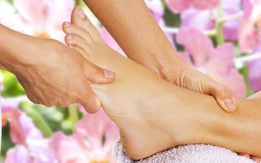 Wellness mokrá pedikúra vč. masáže nohou