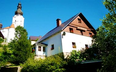 3–6denní pobyt pro 2 v penzionu Vlaďka v Jeseníkách s malým dárkem na přivítanou