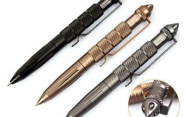 Taktické defenzivní pero ve třech barvách