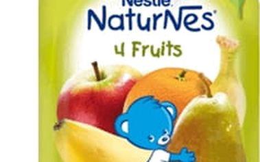 6x NESTLÉ NATURNES 4 ovoce (90g) - ovocná kapsička