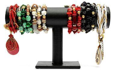 Koženkový stojánek na náramky a náhrdelníky - dodání do 2 dnů