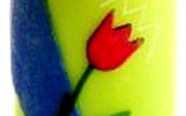 Svíčka tulipán. Udělejte si jarní atmosféru ve Vašem domově díky této svíčce v podobě tulipánu.