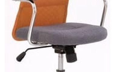 Kancelářská židle Andy oranžová