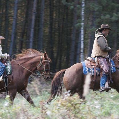 3 hodiny na ranči s projížďkou podél Berounky