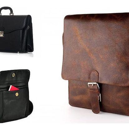Pánské elegantní tašky v různých variantách