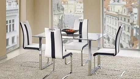 Skleněný jídelní stůl Porter