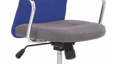 Kancelářská židle Andy modrá