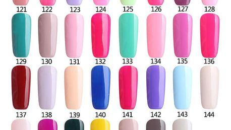 Dlouhotrvající lak na nehty - 28 barev