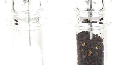 Maxwell & Williams Sada mlýnků na sůl a pepř CLASSIC acryl 14 cm