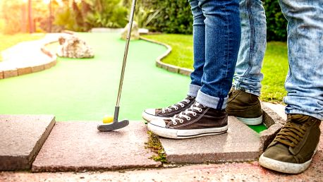 60minutová hra Adventure golfu pro 2 v Jihlavě