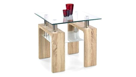 Konferenční stůl Diana H - čtverec dub sonoma