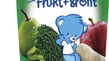 6x NESTLÉ Veggie Jablko, hruška, brokolice, petržel 90g - ovocno-zeleninová kapsička