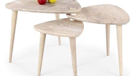 Konferenční stolek Corsica bílá