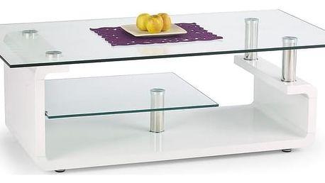 Konferenční stůl Cynthia bílá