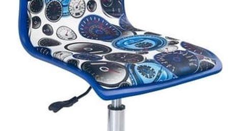 Dětská židle Fun-8 modrá
