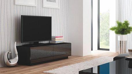 Televizní stolek Livo RTV-160S černá