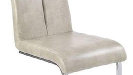 Kovová židle K142