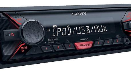Sony DSX-A200U, červená - DSXA200UI.EUR