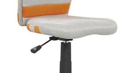 Dětská židle Fuego oranžová