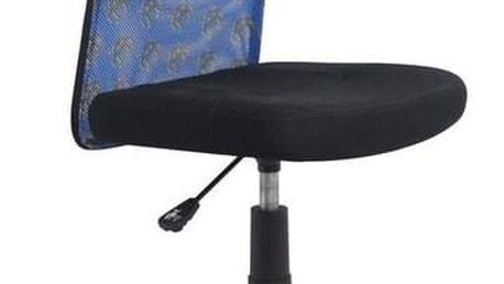Kancelářská židle Dingo modro-černá