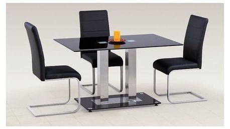 Skleněný jídelní stůl Walter II