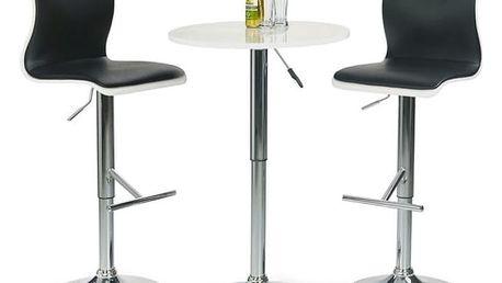 Barový stolek SB-1 bílá
