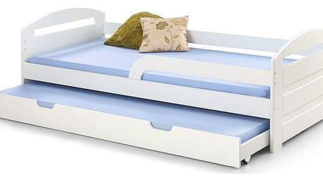 Dětská postel Natalie bílá