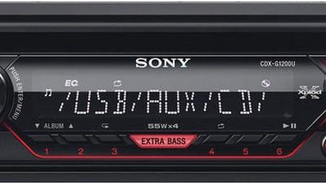 Sony CDX-G1200U - CDXG1200U.EUR