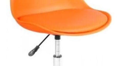 Dětská židle Coco oranžová