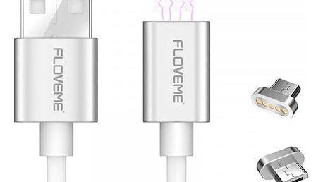 Micro USB kabel s magnetickým adaptérem - 3 barvy