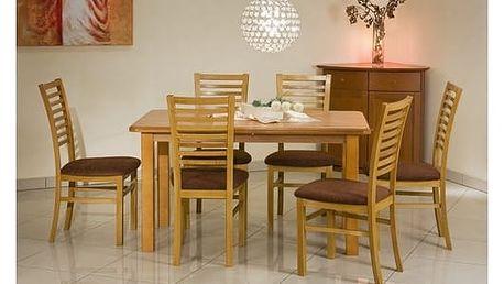 Dřevěný jídelní stůl Emil olše