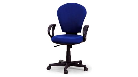 Kancelářská židle Fabian modrá