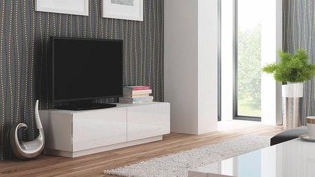 Televizní stolek Livo RTV-160S bílá