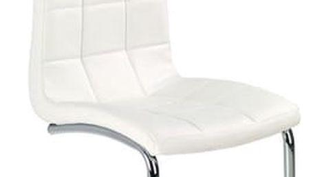 Kovová židle K147 černá