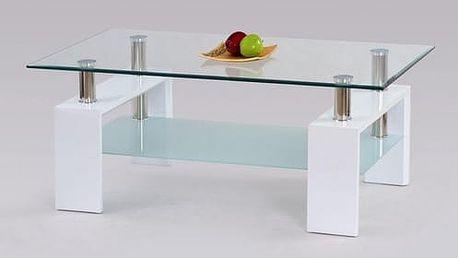 Konferenční stůl Diana lakovaný bílá