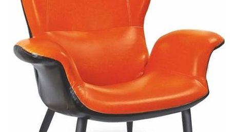 Křeslo Pegas oranžová