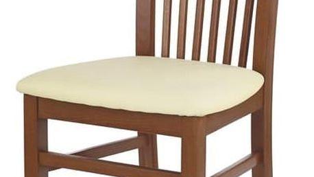 Jídelní židle Jacek antická třešeň