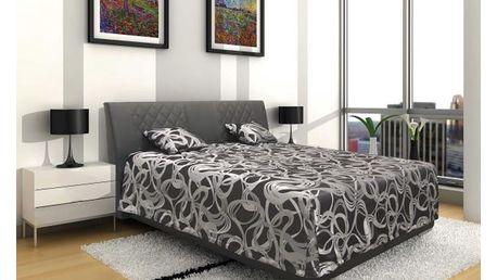 Čalouněná postel sima 2 160, 160/200 cm