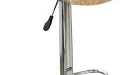 Barová židle H-6 světlý dub