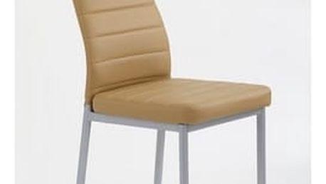 Kovová židle K70 šedá