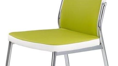Jídelní židle K210 zelená