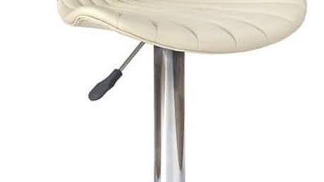 Barová židle H-65 krémová