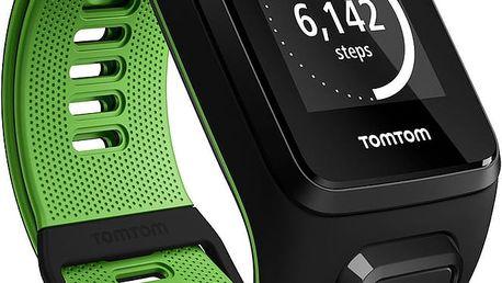 TOMTOM Runner 3 Cardio (L), černá/zelená - 1RK0.001.00
