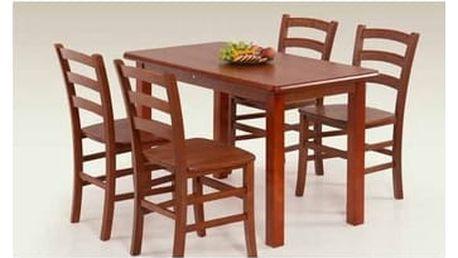 Dřevěný jídelní stůl Dinner 115 antická třešeň